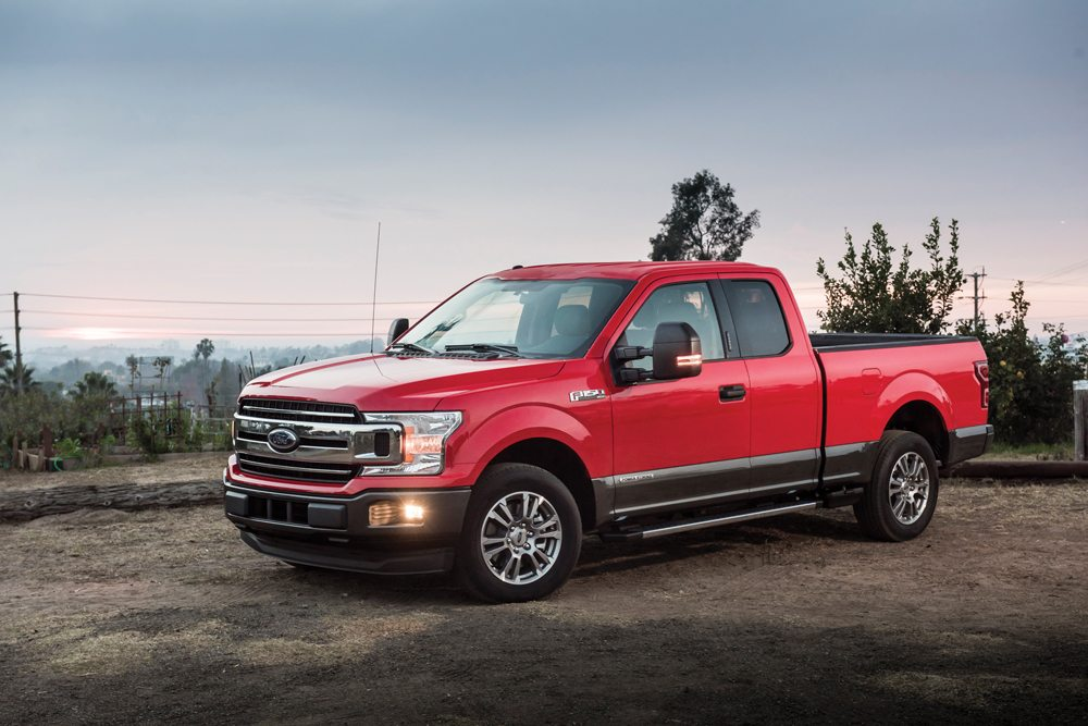 Ford has begun production of F-150 pickups with a 3.0 litre Power Stroke diesel under the hood.  Photo: Ford