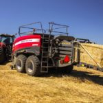 AGCO debuts its first 'Class 8' baler