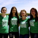 4-H Youth Service Leaders include Emelia Huff, Leah Haan, Ally Spielmacher, and Nicole French, all from Ontario.