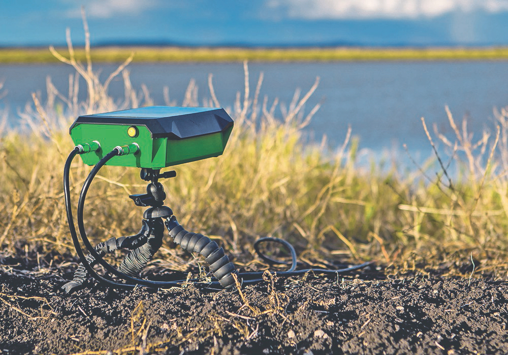 When FieldBot isn't busy helping people farm, it can serve sentry duty at the billabong and sound an alert when duck flocks arrive.