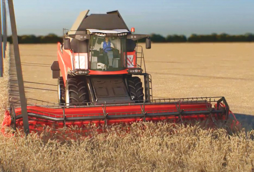Russia-based Cognitive Agro Pilot offers an autonomous combine navigation system that relies on a self-contained camera system rather than on GPS.