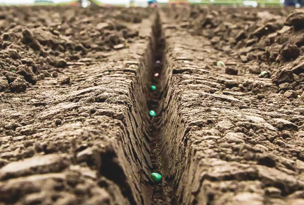Planter functions from openers to metering to firming and closing are all focused on creating a perfect seed trench.